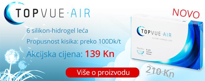 kontaktne leće topvue air